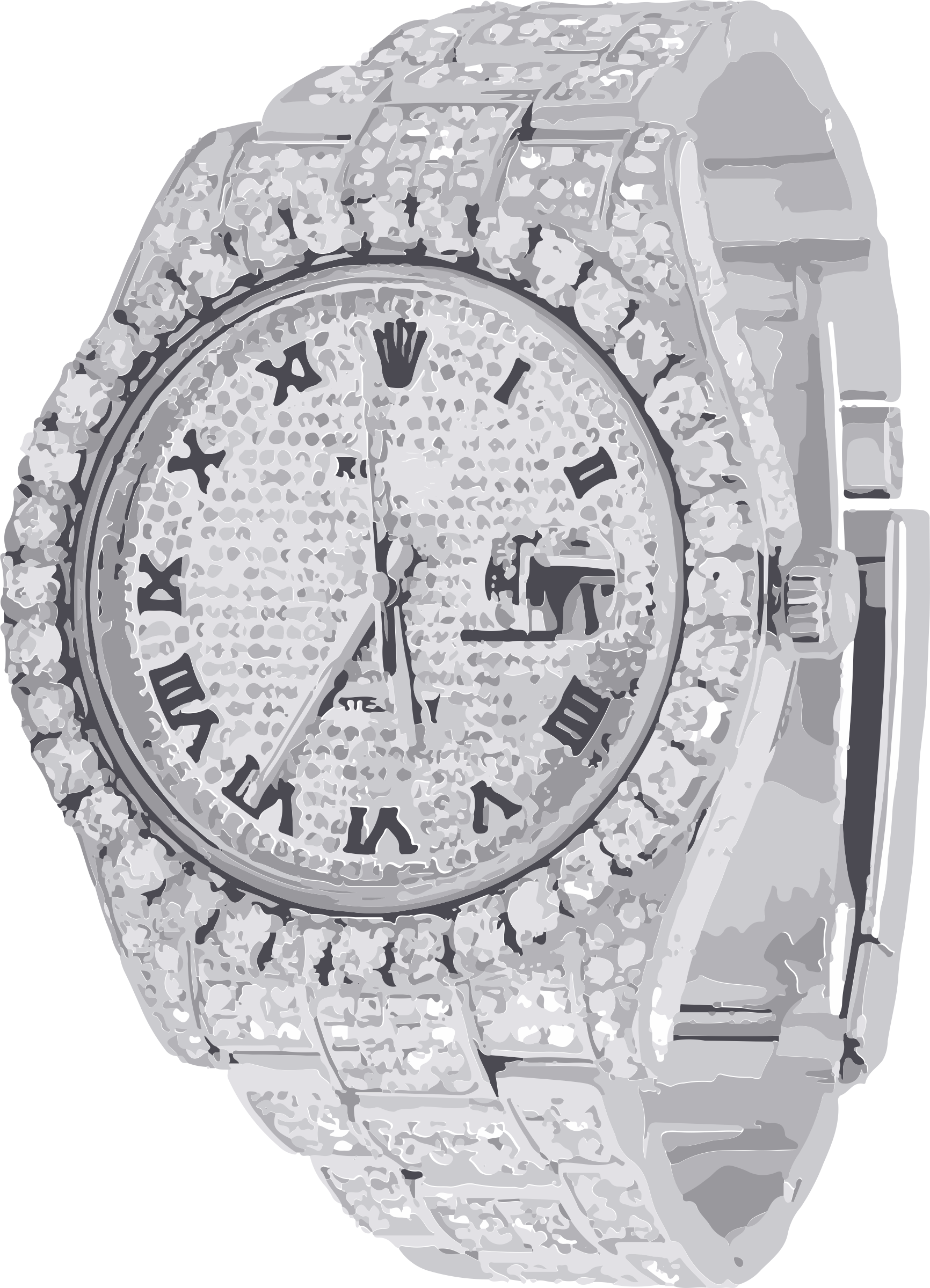 Diamond Watch Png images collection for free download.