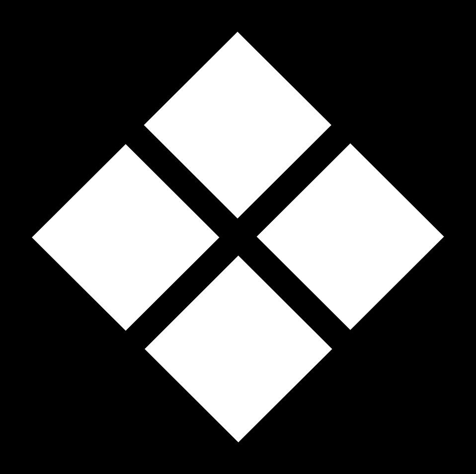 Diamond Shape Black And White.