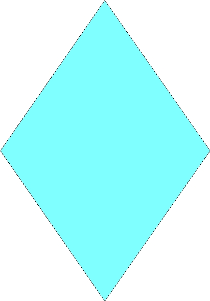 Diamond shape clipart 1 » Clipart Station.