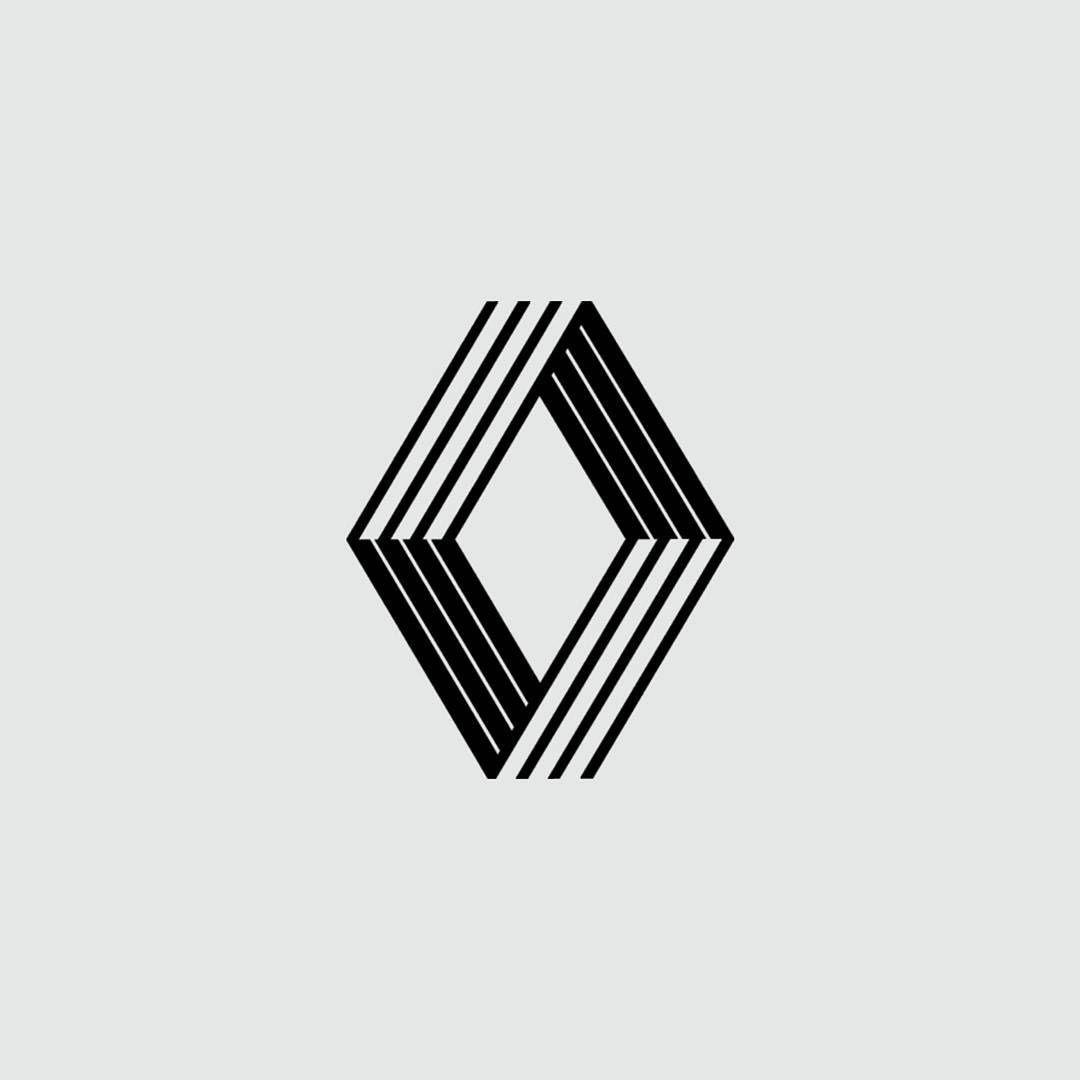 Diamond shaped Logos.