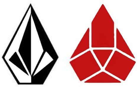 Diamond shaped company Logos.