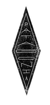 Diamond shaped logo.