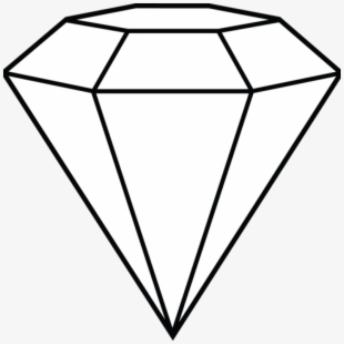Diamonds Clipart Coloured.