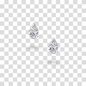 Diamond Stud Earrings transparent background PNG cliparts.