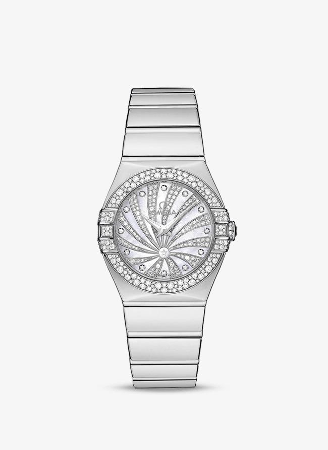 Diamond Watch Clipart.