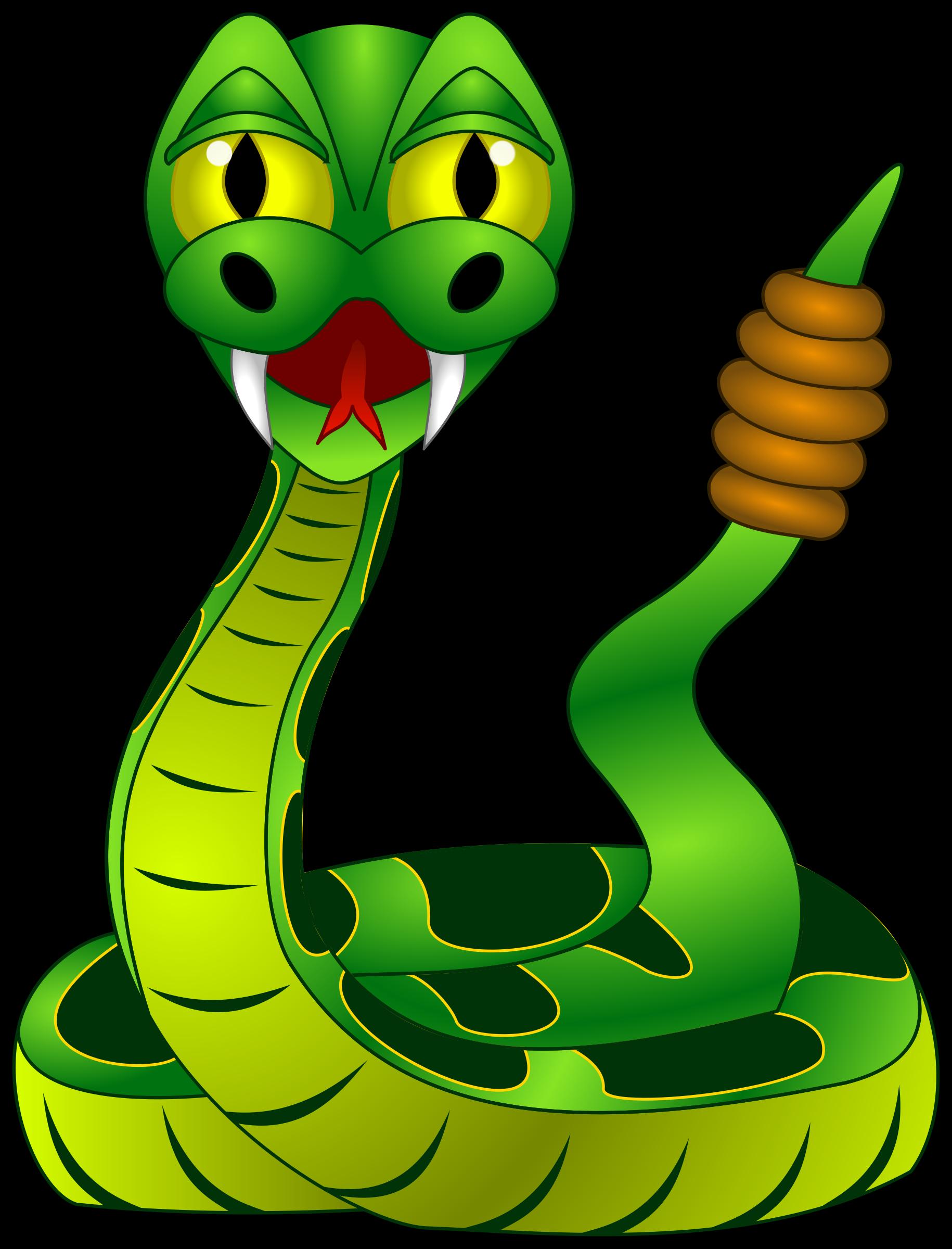 Diamondback Rattlesnake Clipart.