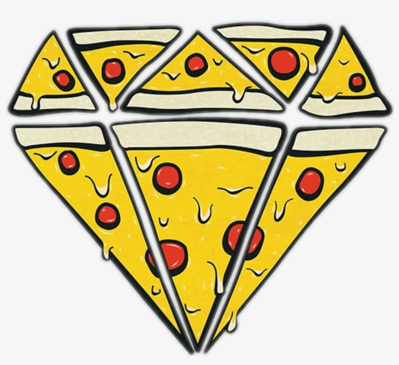 Tumblr Diamond Diamante Pizza Freetoedit.