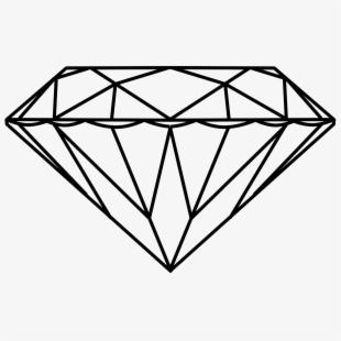 Diamonds Clipart Diamond Outline , Transparent Cartoon, Free.