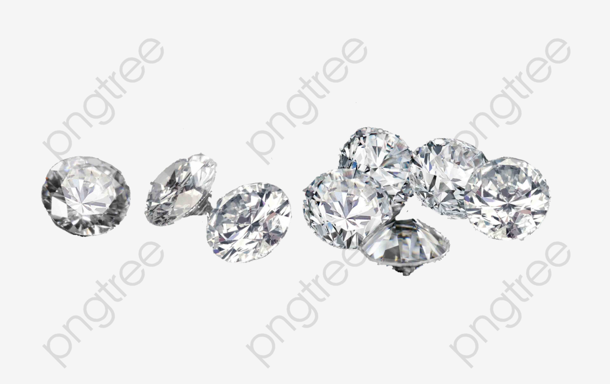 Loose Diamonds, Diamond Elements, Coloured, Diamond PNG Transparent.