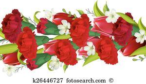 Dianthus Clip Art EPS Images. 22 dianthus clipart vector.