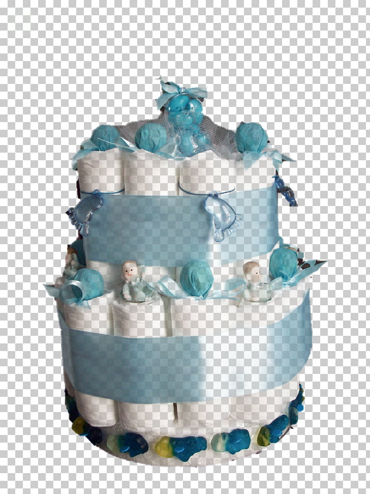 Diaper Cake Baby shower Infant, cake PNG clipart.