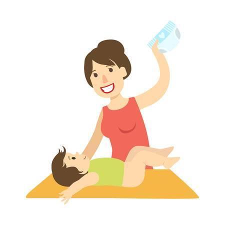 Baby diaper change clipart 6 » Clipart Portal.