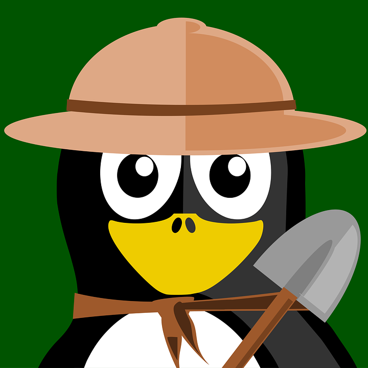 Free photo Researcher Tux Vector Inkscape Animal Penguin.