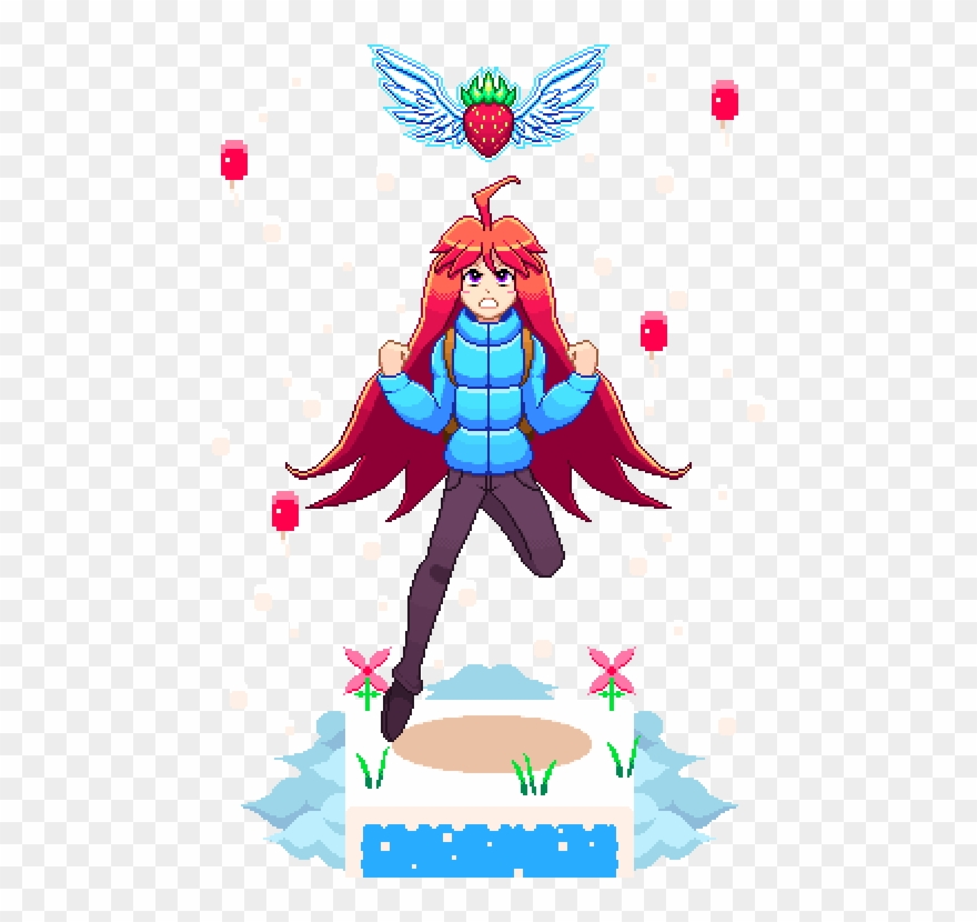 Celeste Diorama Fan Art Made In Gimp Clipart (#2525076.