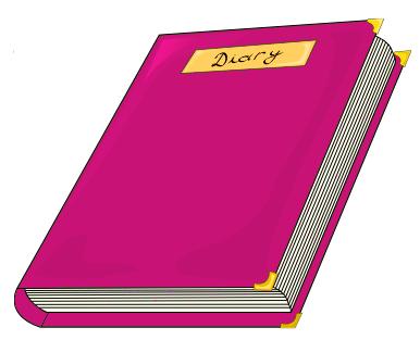 Diaries clipart.