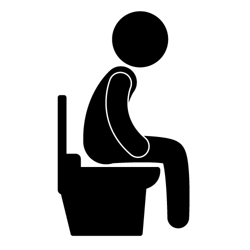 Constipation Clipart.