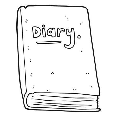 Diary clipart black and white 3 » Clipart Portal.