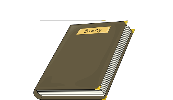 Diary Clipart.