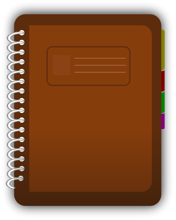 Diary book Clipart, vector clip art online, royalty free design.