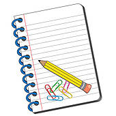 Writing Journal Clipart.