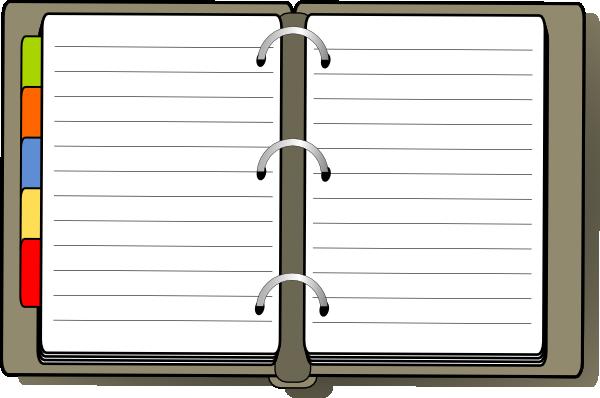 Diary Clip Art.