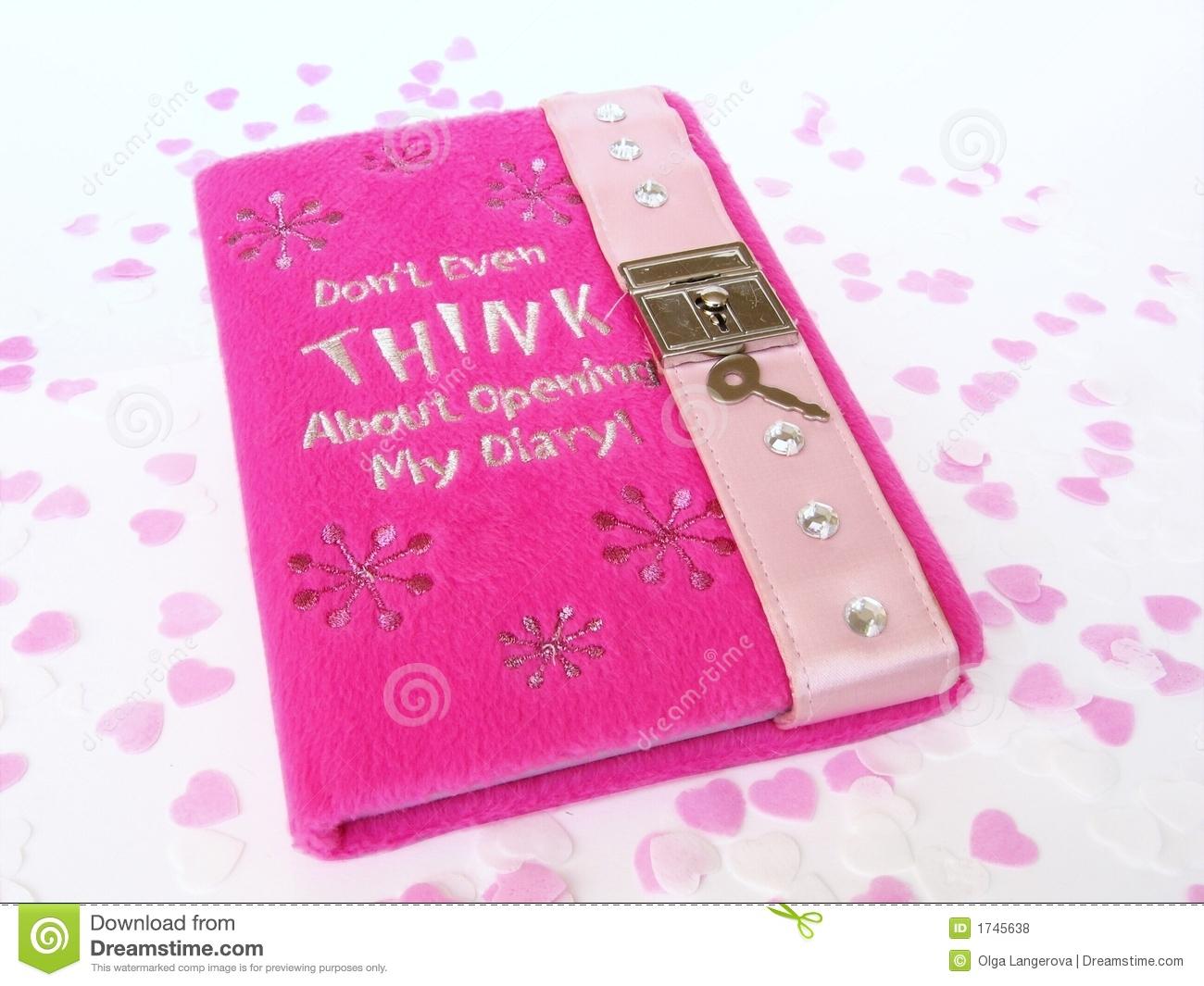 diary lock clipart
