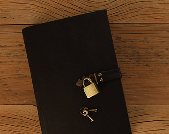 Diary with lock.