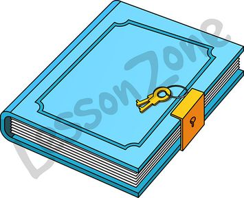 Diary images clip art.