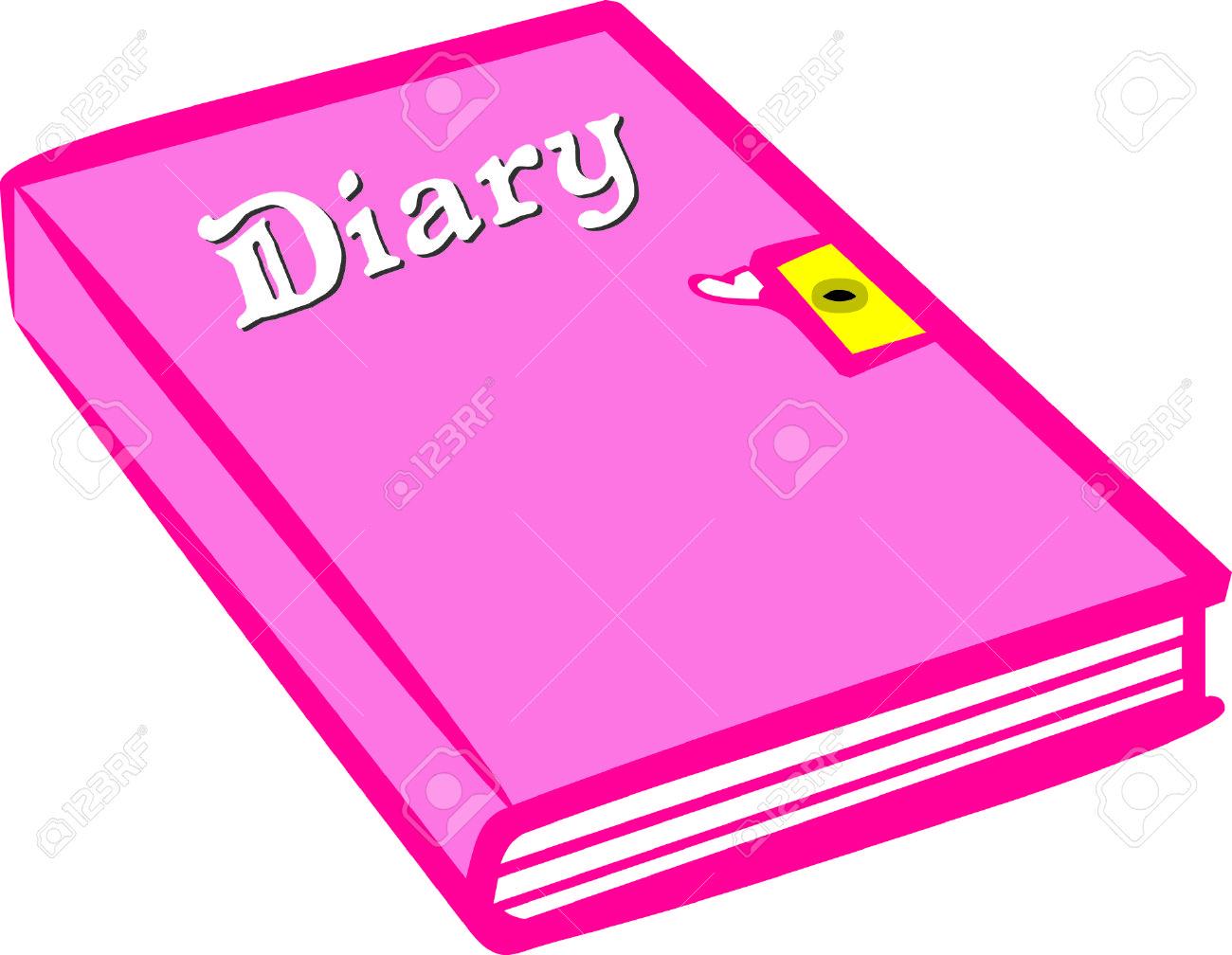 Write Down Those Fun Memories In A Pretty Pink Diary Under Lock.