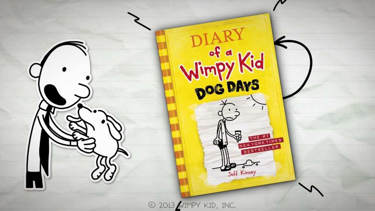 Diary of a Wimpy Kid: Dog Days by Jeff Kinney.