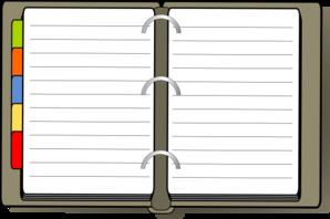 Diary Clip Art at Clker.com.