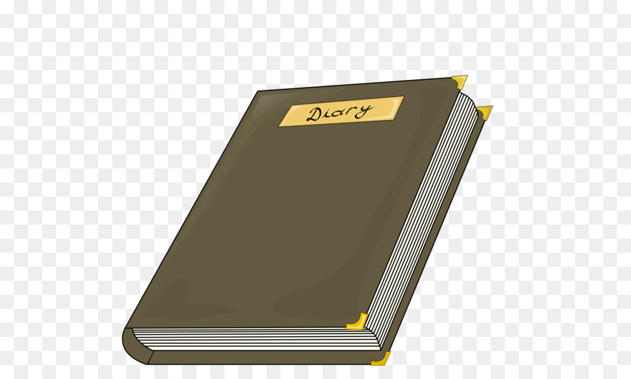 Diary Yellow png download.
