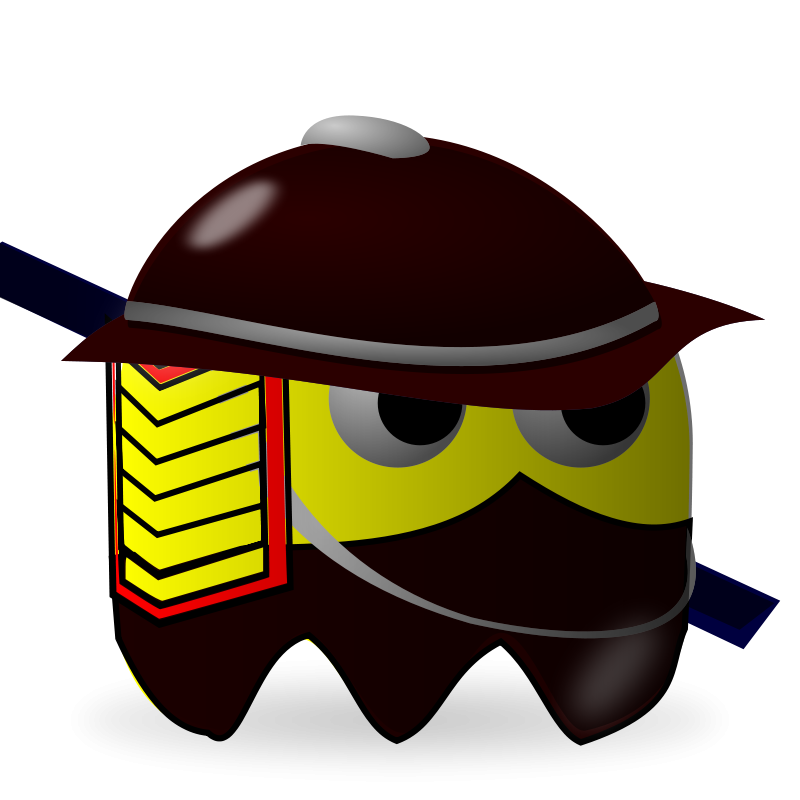 Free Clipart: Padepokan: Samurai.