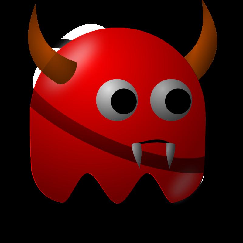 Free Clipart: Padepokan: Web Demon.