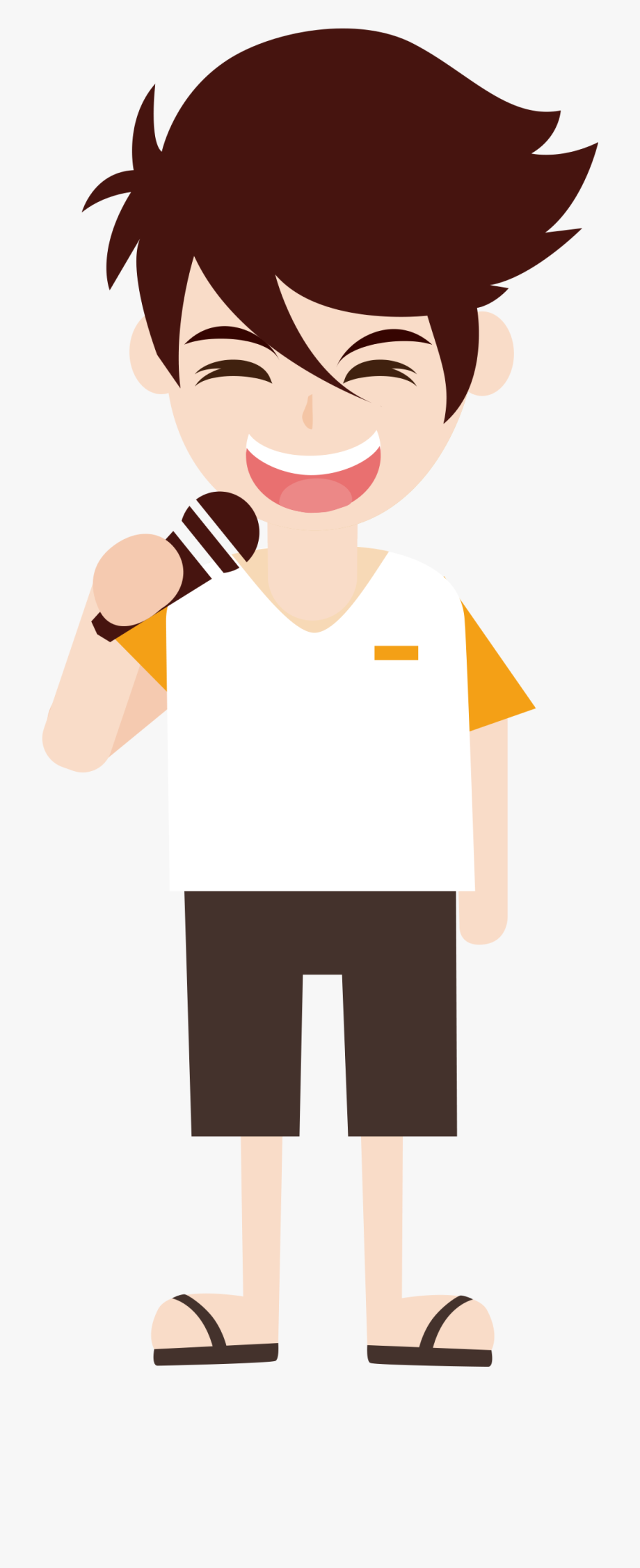 Sing Clipart Professional Singer.