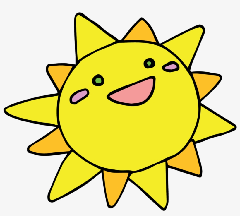 Sun Clipart Kawaii.