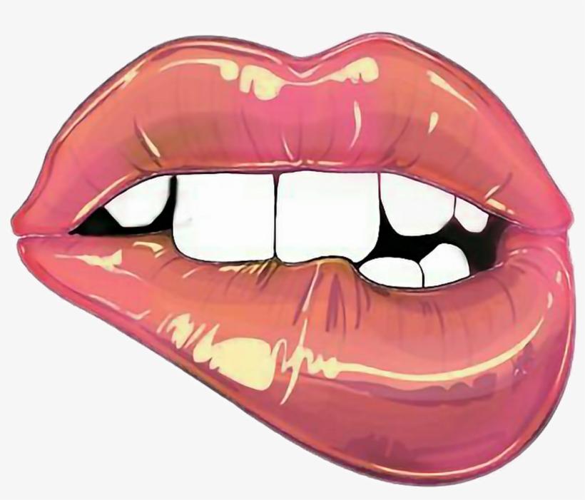 Labios Tumblr Sexi Mujer Png Labio Dibujos Tumblr Transparent PNG.