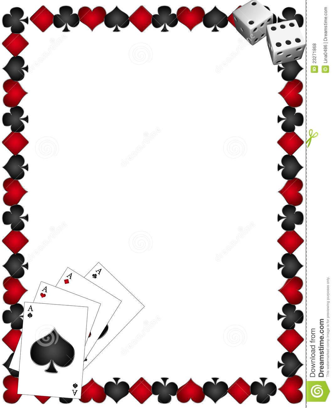 Gambling Clipart Borders.