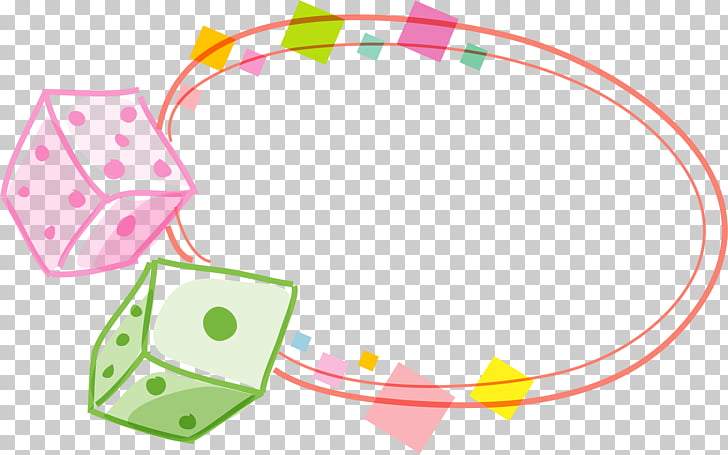 Dice , Dice Border PNG clipart.