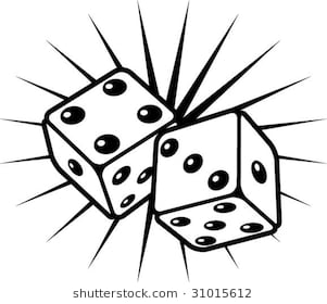 Rolling dice clipart 5 » Clipart Station.