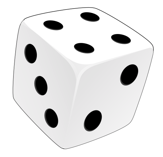 Free to Use & Public Domain Dice Clip Art.