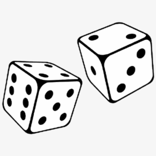 Free Dice Clipart Black And White Cliparts, Silhouettes, Cartoons.