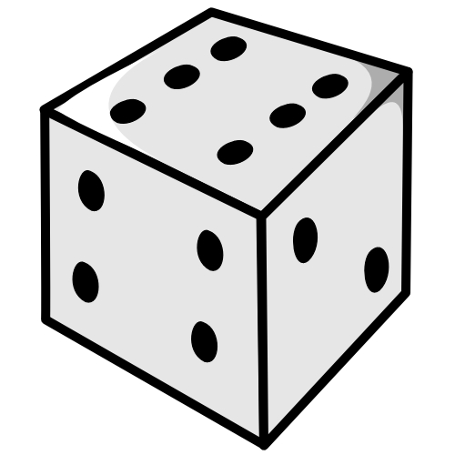 1 dice clipart clipart panda free clipart images dice game clipart.