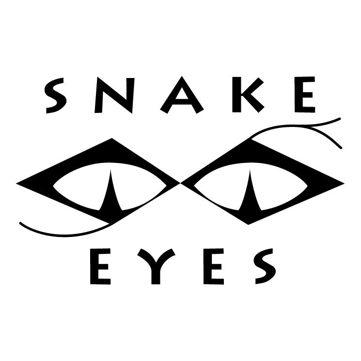Snake eyes Free Vector / 4Vector.