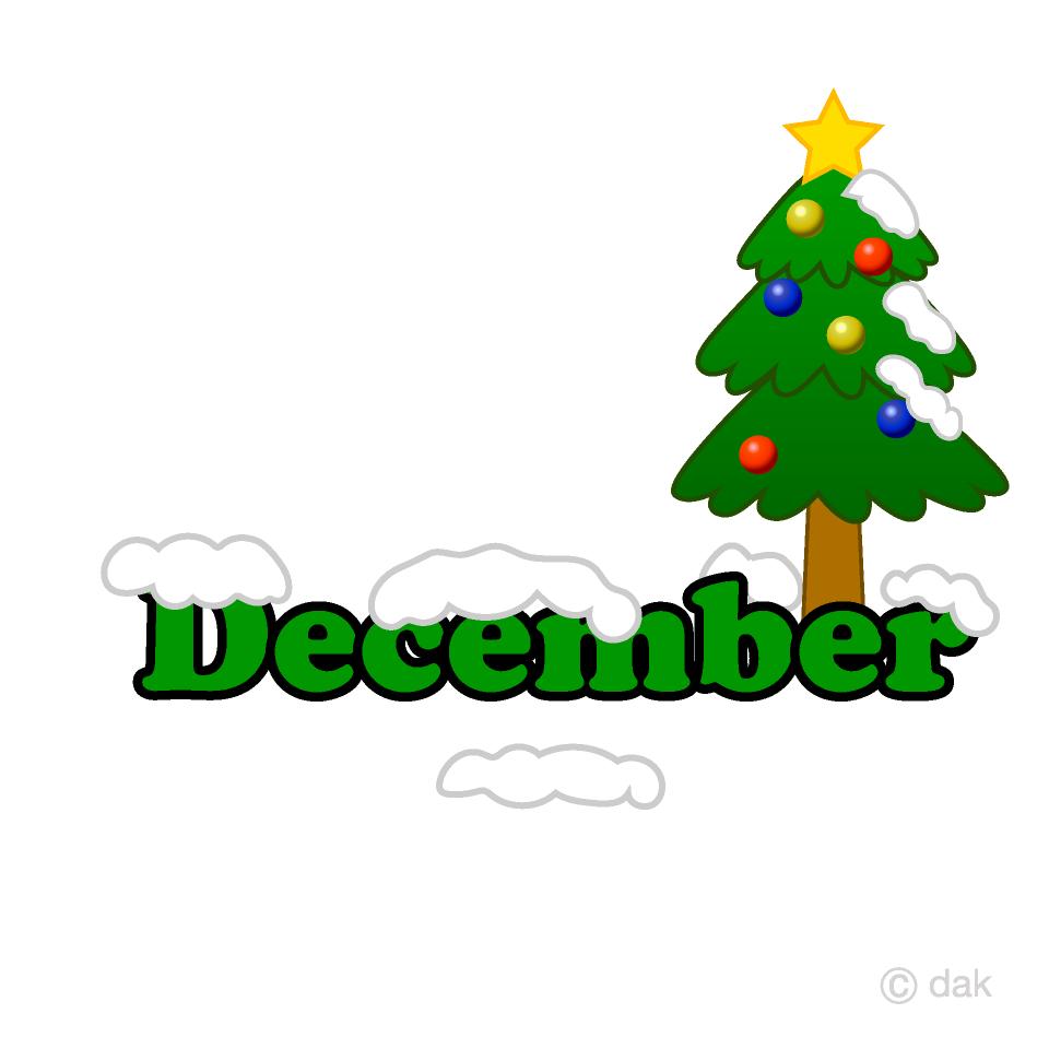 Árbol de navidad diciembre Gratis Dibujos Animados Imágene|Illustoon ES.