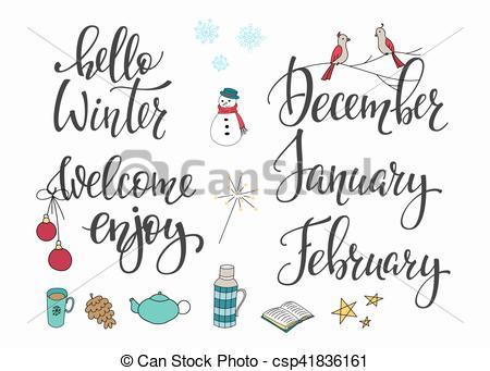 febrero, conjunto, invierno, diciembre, enero, hola.