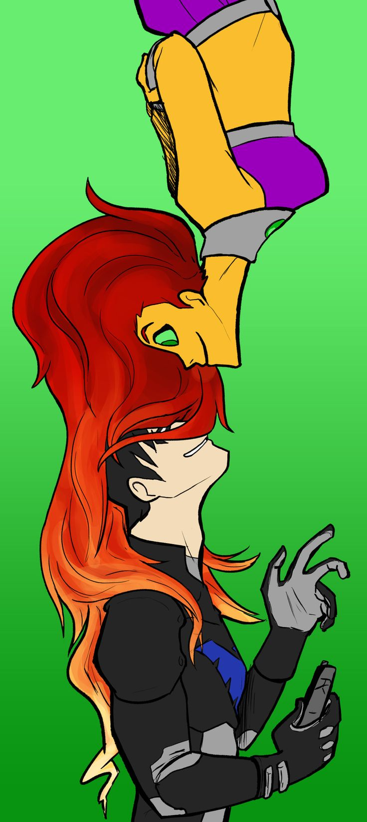 1000+ images about Teen Titans Fan Art on Pinterest.