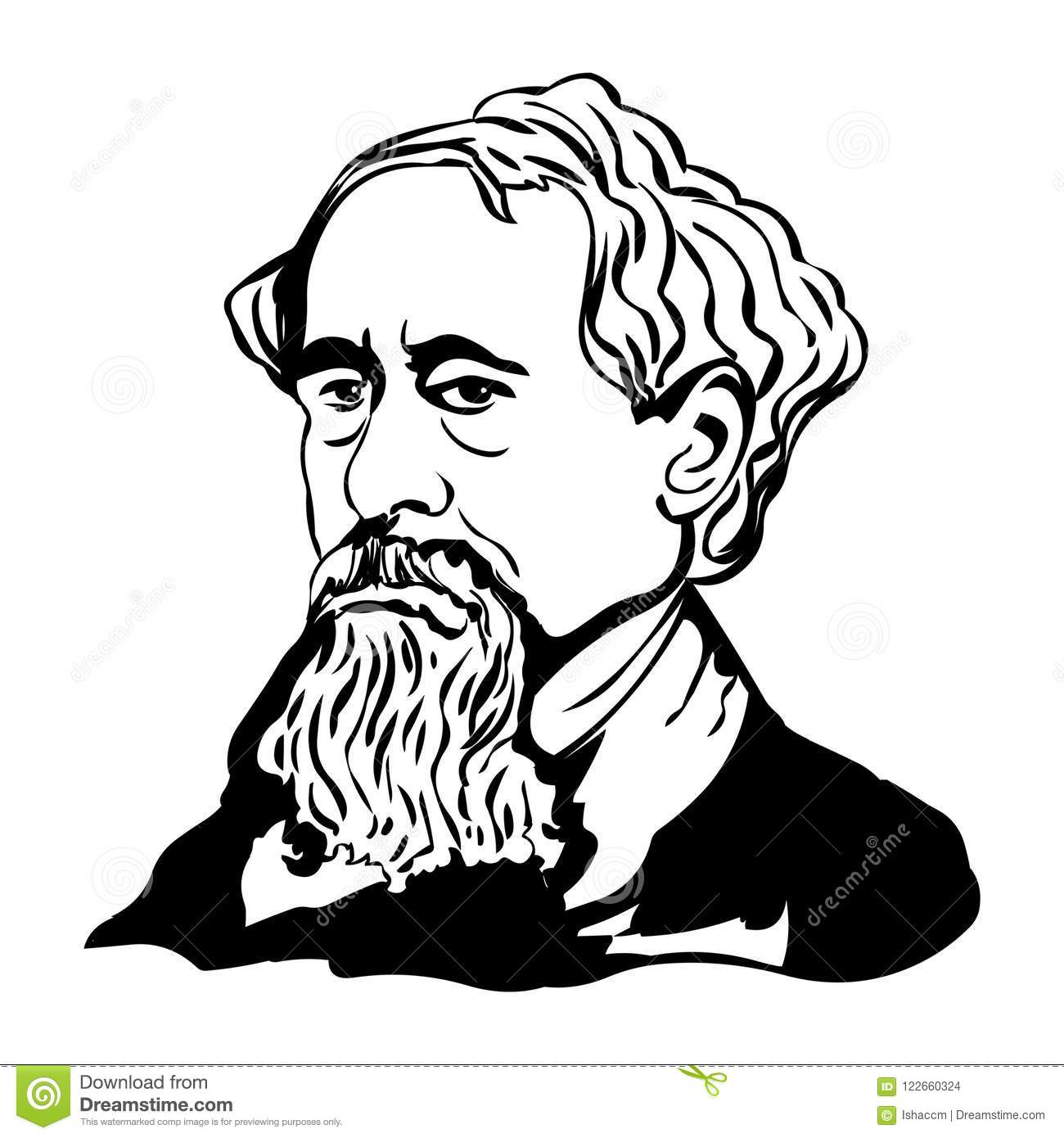 Dickens Vector Stock Illustrations.