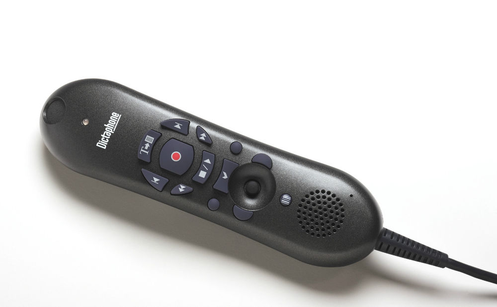 Dictaphone PowerMic II Dictation Microphone with Barcode Scanner.
