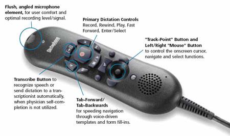 Dictaphone PowerMic II Dictation Microphone.